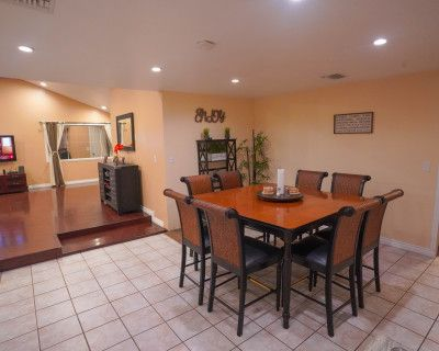 Spacious 1740 sqft house with large living room & lighting, Buena Park, CA
