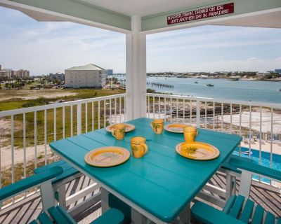 Double the VIEWS Double the FUN Captivating views of the Gulf and Ole River - Orange Beach East