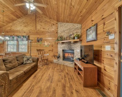 Pet-friendly cabin, close to town, with hot tub - Pigeon Forge