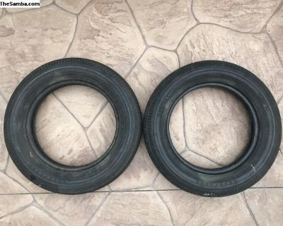 2 16 Goodyear Bias Ply Used Tires