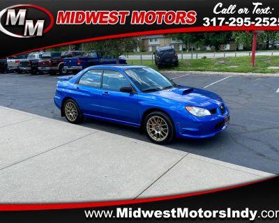 Used 2007 Subaru Impreza Sedan 4dr H4 Turbo MT WRX TR