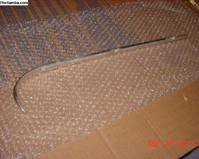 Ghia 72-74 Quarter Window Ext Trim Molding - Great