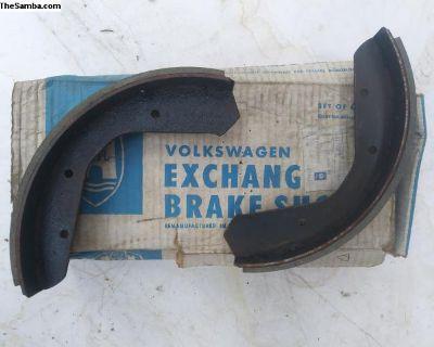 super beetle brake shoe