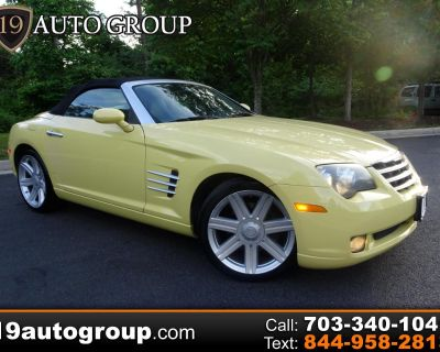 Used 2005 Chrysler Crossfire Roadster Limited