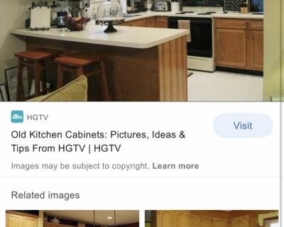 ISO old kitchen cabinets