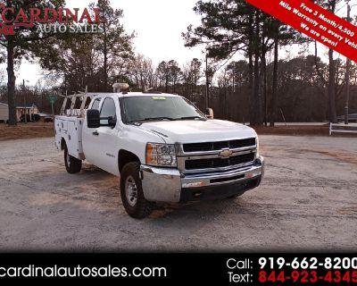 "Used 2009 Chevrolet Silverado 3500HD 4WD Ext Cab 157.5"" SRW Work Truck"