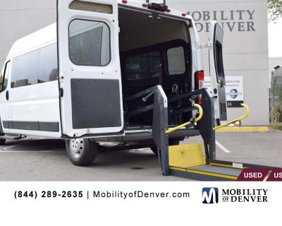 Pre-Owned 2018 Ram ProMaster 2500 159 WB Ricon Power Lift Rear Entry