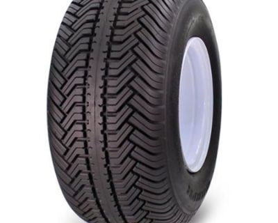 "Greensaver Plus 18"" X 8.50""-8 4-ply Golf Cart Tire Mounted On Rim"