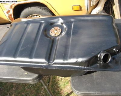 Later Beetle Bug Gas Fuel Tank w/ Sender