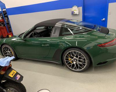 "Porsche OEM 20"" Turbo S Wheels and Alpin Winter Tires 991"