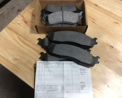 Brake pads (new) - 06 dodge mega cab diesel