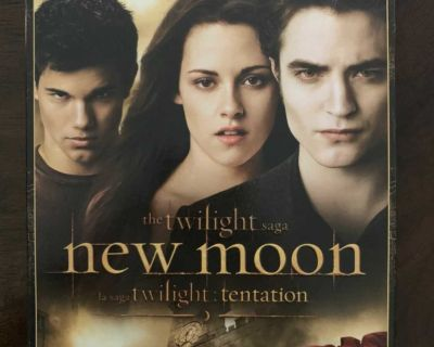Twilight New Moon 2 Disc DVD