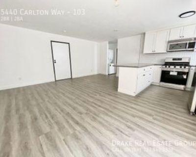 5440 Carlton Way #103, Los Angeles, CA 90027 2 Bedroom Apartment