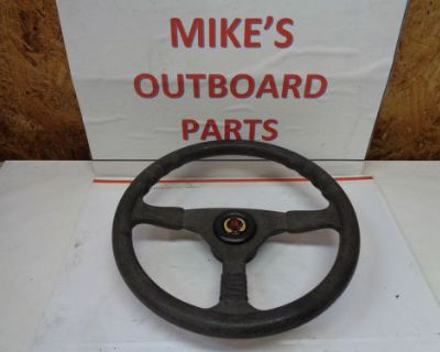"New Teleflex. 3 Spoke Steering Wheel ""a"" 13.5 Diam. 3.5"" Deep@@check This Out@@@"