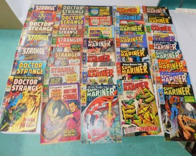 Estate Auction Comics, Twisty Puzzles, Sports