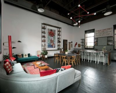 Sleep in a Restored 175-Year-Old Church - East Market District