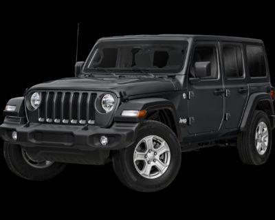 New 2021 Jeep Wrangler Unlimited Sport Altitude 4WD