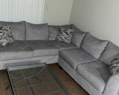 Sectional and table