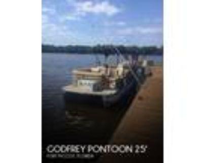 25 foot Godfrey Pontoon 25