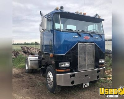 Ready to Work 1987 Peterbilt 587 Cabover Day Cab Semi Truck
