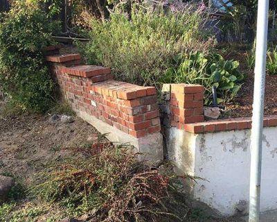 Retaining Wall Crack Repair
