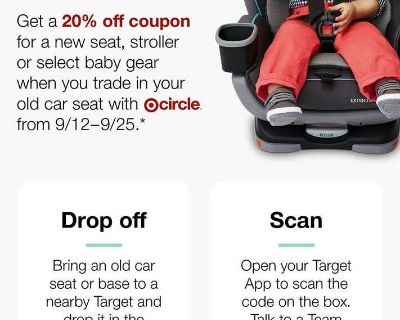 Looking for a Target carseat trade in coupon