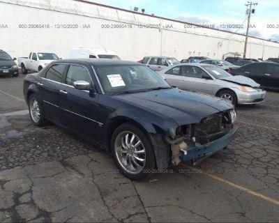Salvage Blue 2006 Chrysler 300