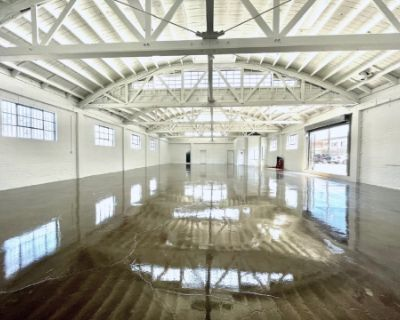 Gorgeous Bright White Warehouse Space, Los Angeles, CA