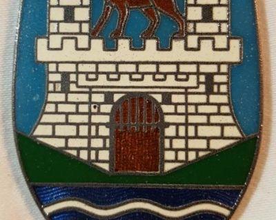 """Wolfsburg Crest """"city Arms"""" OG 4 Brick"""