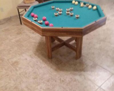 Antique Bumper Pool Table