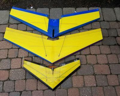 F: 3 Combat Wing Gliders