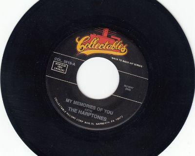 HARPTONES ~ My Memories Of You*Mint-45 !