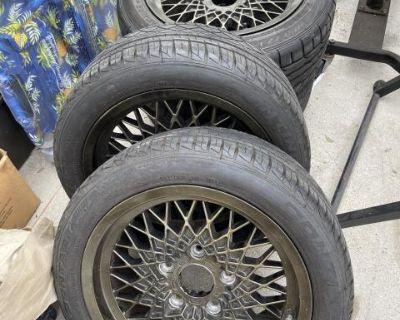 Porsche 16 inch mesh rims ceres brand