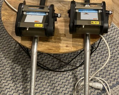 Kristal XL651 s Reels with Rods Combo