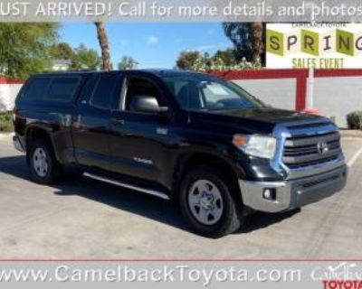 2014 Toyota Tundra SR5 Double Cab 6.5' Bed Flex Fuel 5.7L V8 4WD