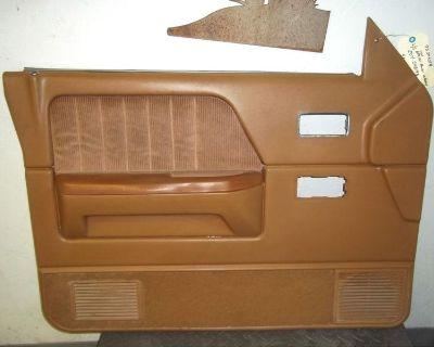 87-96 Dodge Dakota Pickup Truck Left Driver Side Oem Power Door Trim Panel