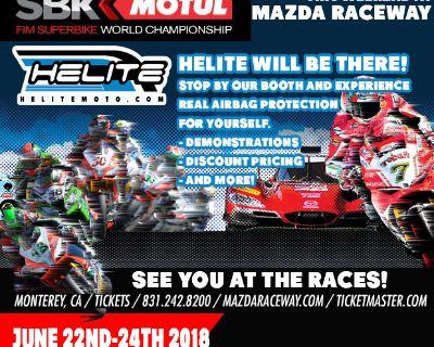 SUPERBIKE this weekend at Mazda Raceway!!