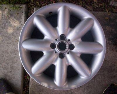 "Mini Cooper S Clubman 17""factory Oem Wheel/rim 2002-04-06-07-09-10-11-12 59364"