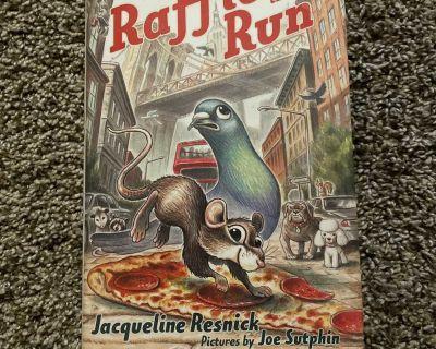 Hard Cover Raffie on the Run