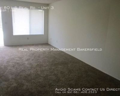 1801 S. Real Rd. Unit 3- Zero deposit, Ask us how!