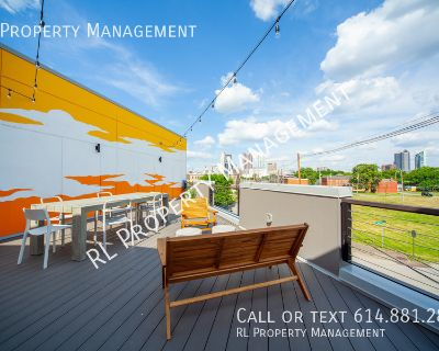 Modern 1 bedroom 1 bathroom apartment in Downtown Columbus/Franklinton-1 month FREE rent!!