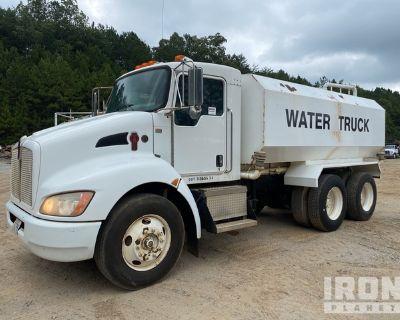 2009 Kenworth T270 6x4 T/A Water Truck