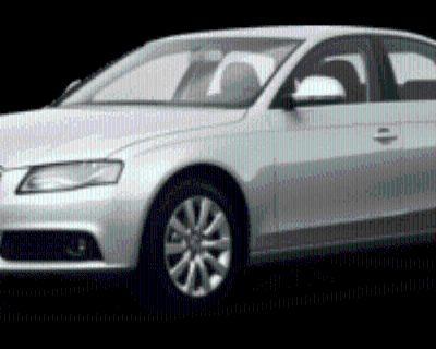 2009 Audi A4 Premium Sedan 2.0T FrontTrak CVT