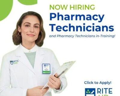 Pharmacy Technician in-Training - Immediate Job Openings!