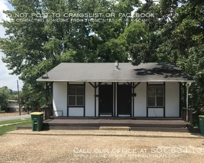 4501 Vestal St., North Little Rock AR 72118 - Cute and affordable 2 story 2br duplex
