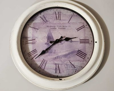 """16"""" VINTAGE STYLE WALL CLOCK"""
