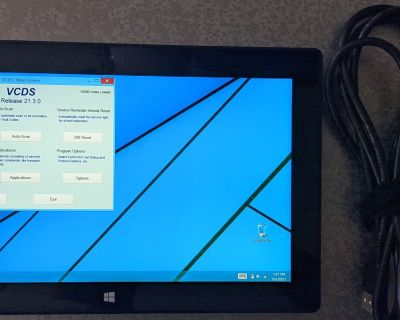 FS: Genuine Ross Tech HEX+CAN VCDS cable (unlimited VINs) and Surface Pro 2 bundle
