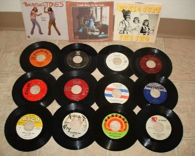 Mixed Lot Of 200+45's Rpm RECORDS !