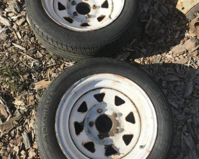 Rims with adapter