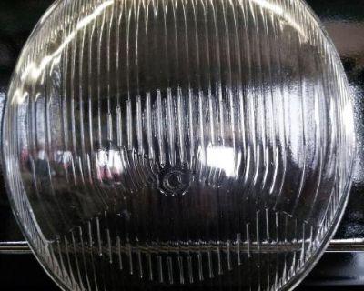 Fluted headlight lens. One pair